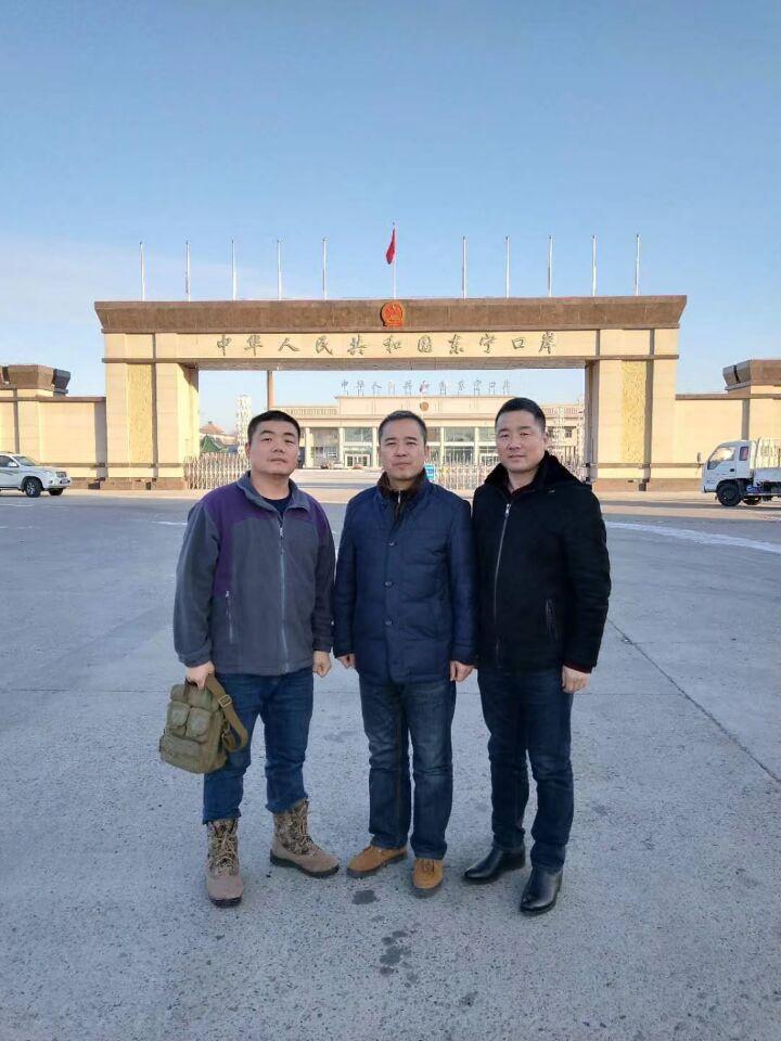 【2017纳新黑龙江考察大米之行】边防部队首长陪同下视察东宁某哨所