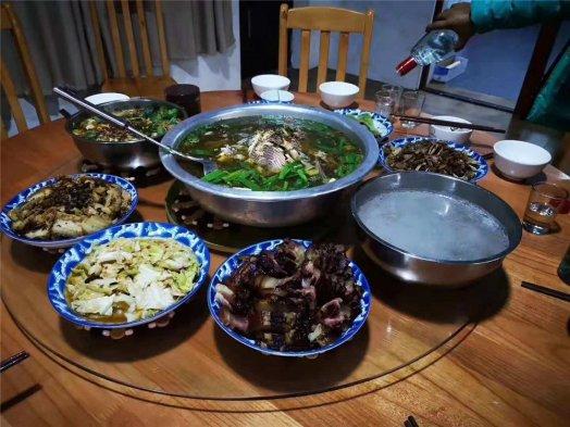 2018纳新勐海茶山行 —— 今日晚餐