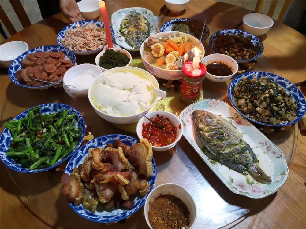 2019纳新勐海茶山行 —— 今天的晚餐